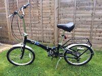 Classic city folding bike excellent condition