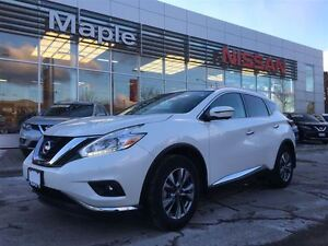 2016 Nissan Murano SL AWD--NON-RENTAL, Leather,Roof, Navi
