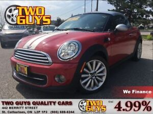 2012 MINI Cooper Coupe LOUNGE LEATHER ALLOYS