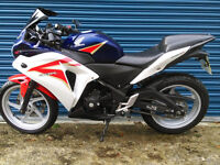 Honda CBR250R 2011 Outstanding Condition A2 Legal Loads of Extras