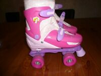 Disney Princess adjustable quad roller skates
