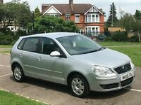 2006 Volkswagen Polo 1.2 petrol 1 years mot new clutch just serviced drives great cheap 1st car