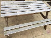 Picnic table / picnic bench ( can deliver if local)