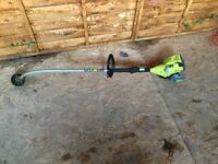 Ryobi petrol trimmer good condition 1 year old