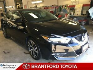 2017 Nissan Maxima SL, Leather, Navigation, Panoramic Sunroof, P