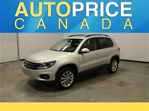 2014 Volkswagen Tiguan Highline 4MOTION|PANOROOF|LEATHER|