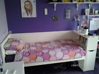 Ikea Childrens bed and bookcase