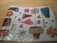 Cute wall stickers to sale at only @£3