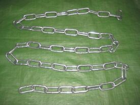 Two Metre 5 mm Square Link Security Chain