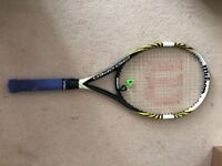 Wilson BLX Pro Open tennis racket strung - 100 - 300gr - Good status