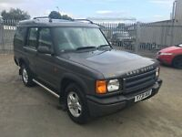 Land Rover DISCOVERY 2 2.5 TD5 GS 5dr (7 Seats)1 YEAR MOT HPi CLEAR