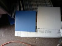blue wall tiles all new