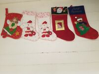 Amazing Offer - 5 Almost New Harrods Christmas Stockings