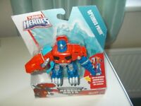 Playschool Optimus Prime Rescue Bots brand new never been opened