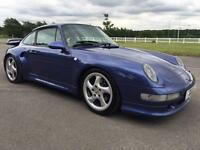 PORSCHE 911 CARRERA 2S COUPE, VERY RARE WITH FACTORY TURBO S AEROKIT TURBO II, FPSH.