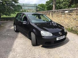 2004 VW GOLF 1.6FSI METTALIC BLACK 11 MONTHS MOT RUNS AND DRIVES AS IT SHOULD CLEAN RELIABLE CAR