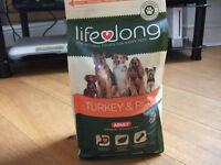 Lifelong Turkey & Rice Dog food 2.5kg bag