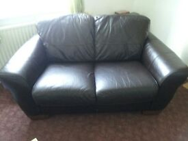 2&3 seater sofa with footstool