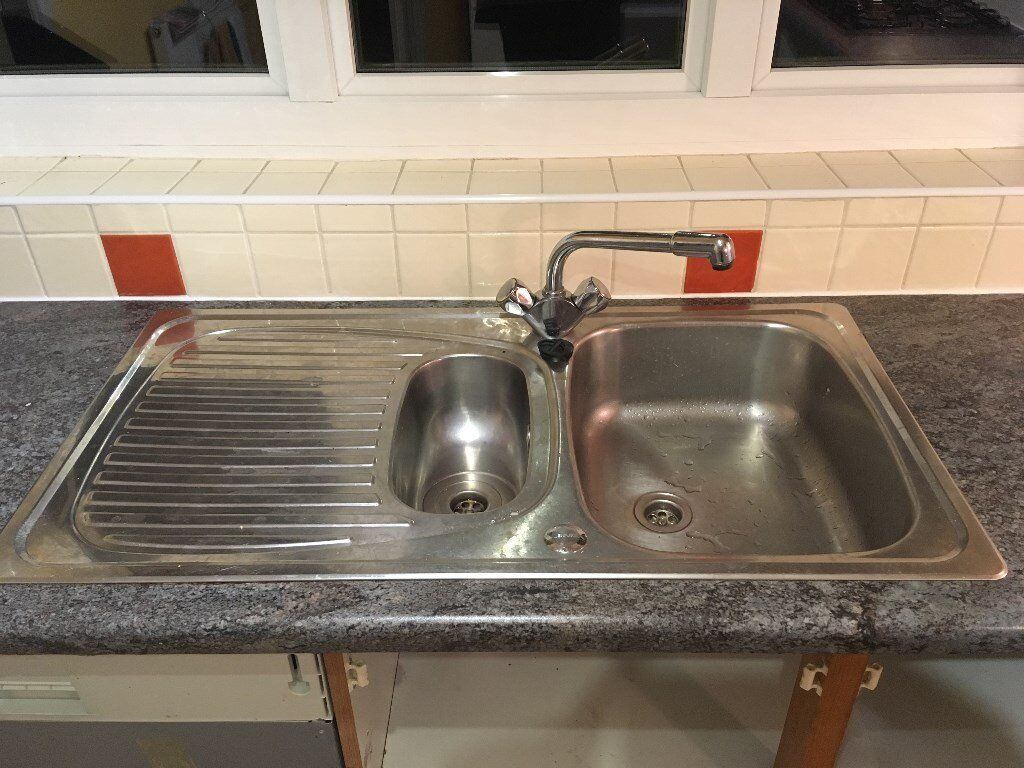 Stainless Steel Kitchen Sink & Tap | in Bearsden, Glasgow | Gumtree