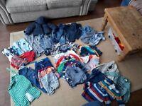 Baby boy clothes bundle 12 - 18 months