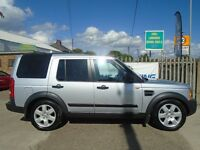LAND ROVER DISCOVERY 3 2.7 TD V6 HSE 5dr Auto (silver) 2007