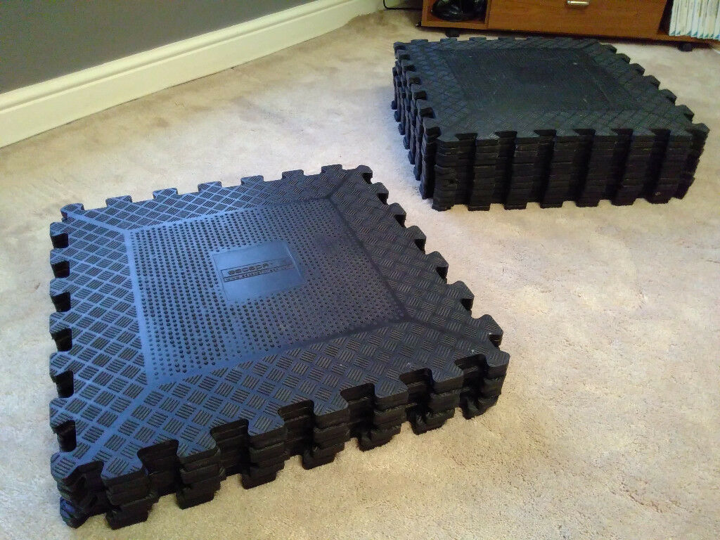 Gym Interlocking tiles, gym mats, commercial gym equipment