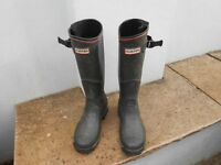 Hunter Boots - size 5