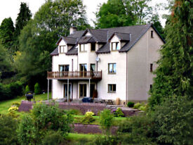 Modern 8 bedroom, 5 Public room Detached House (+ optional separate flat) to Rent Crieff, PH7