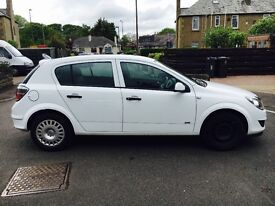 White Vauxhall Astra for sale, 59 plate