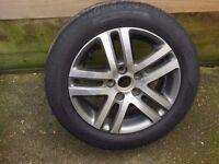 "Volkswagen Atlanta 16"" Inch Alloy Wheel with Pirelli Tyre"