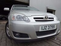 💥 2004 TOYOTA COROLLA 1.6,5 DOOR,MOT SEPT 17,2 OWNERS,PART HISTORY,2 KEYS,VERY RELIABLE FAMILY CAR
