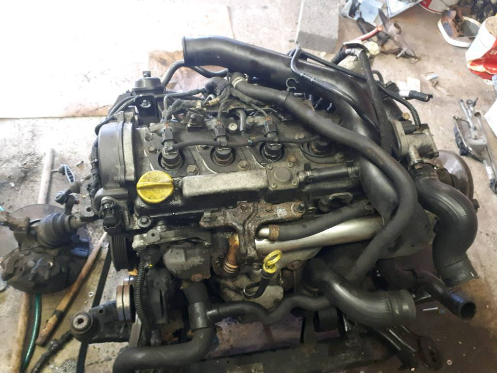 Vauxhall Astra 1.7 Cdti complate engine 2004 till 2009