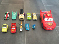 Disney diecast cars bundle