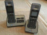 BT2500 Twin Digital Cordless Phone/Answer Machine - BOXED
