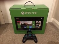 Xbox one 500gb w/ 2 can controllers & 3 games