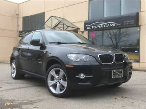 2012 BMW X6 xDrive35i / NAVIGATION / BACKUP CAMERA