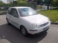 VOLKSWAGEN LUPO E 3DR HATCHBACK 999CC IN WHITE