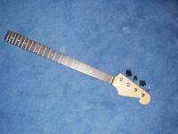 Bass Guitar Neck & Tuners