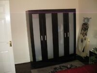 2 ikea double wardrobes for sale in great condition