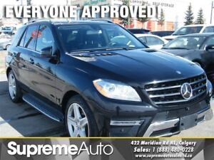 2014 Mercedes-Benz M-Class ML350 BLUETEC 4MATIC NAVI/CAM/ROOF