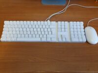 Genuine Apple Keyboard and Mouse