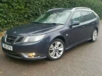 2011 SAAB 9-3 1.9 TTID4*TURBO EDITION*SPORT WAGON*FSH*LEATHER*H/SEATS*MINT COND'N*#AUDI#BMW#VECTOR