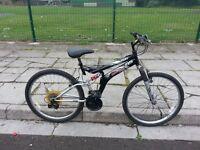 Dunlop unisex Bike with 26 inch wheel