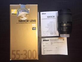 Nikon Nikkor 55-300mm DSLR lens