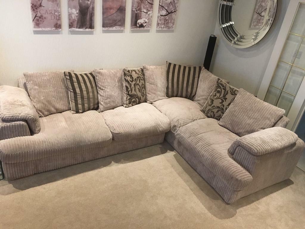 Left Hand Corner Sofa Round Swivel Chair In Stepps Glasgow Gumtree
