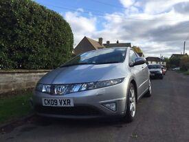 Honda Civic Model EX top spec Sat Nav