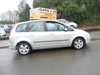 FORD C-MAX STYLE 1.8CC WITH SERVICE HISTORY, GREAT BOOT SPACE! 95K MILES
