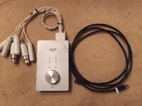 Apogee Duet studio interface sound card