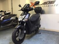 Kymco Agility City 125cc Automatic Scooter, Low Miles, Givi Back Box, Good Cond, Finance Available