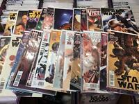 Star Wars marvel dark horse comic books comics darth Vader Poe Dameron rogue one darth maul